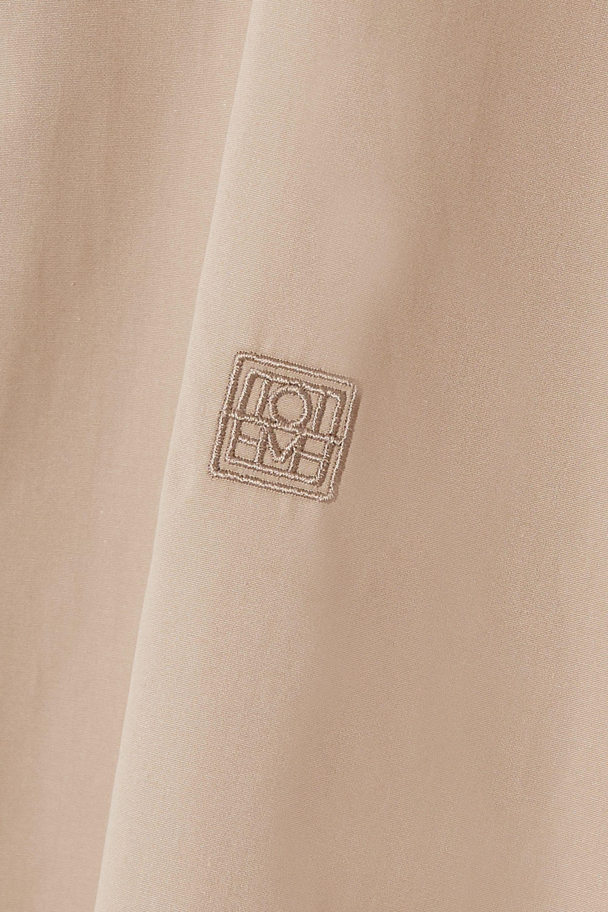 Totême Capri cotton-poplin shirt