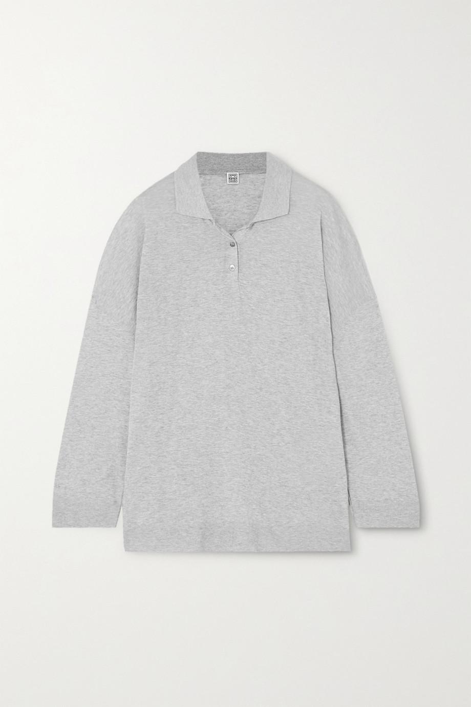 Totême Barzio 混色赛尔纤维棉质混纺毛衣