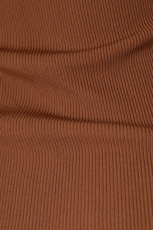 Totême Robe longue en mailles côtelées Espera