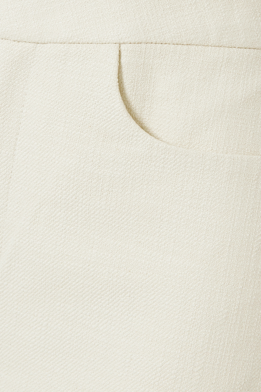 Totême Novara cropped cotton-blend straight-leg pants