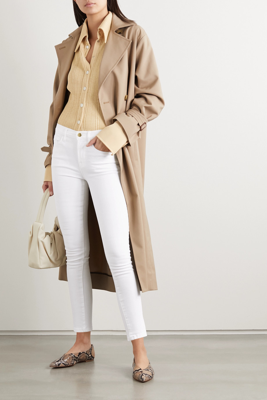 FRAME Le Skinny de Jeanne high-rise jeans