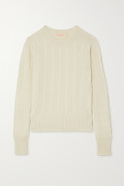 Nora cable-knit cashmere sweater