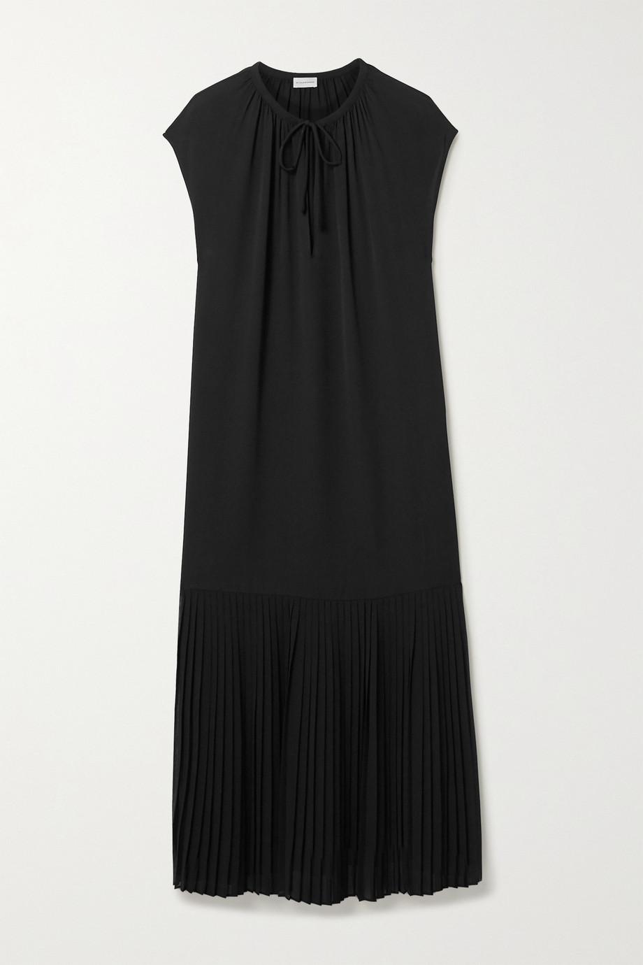 By Malene Birger Solomon pleated crepe midi dress