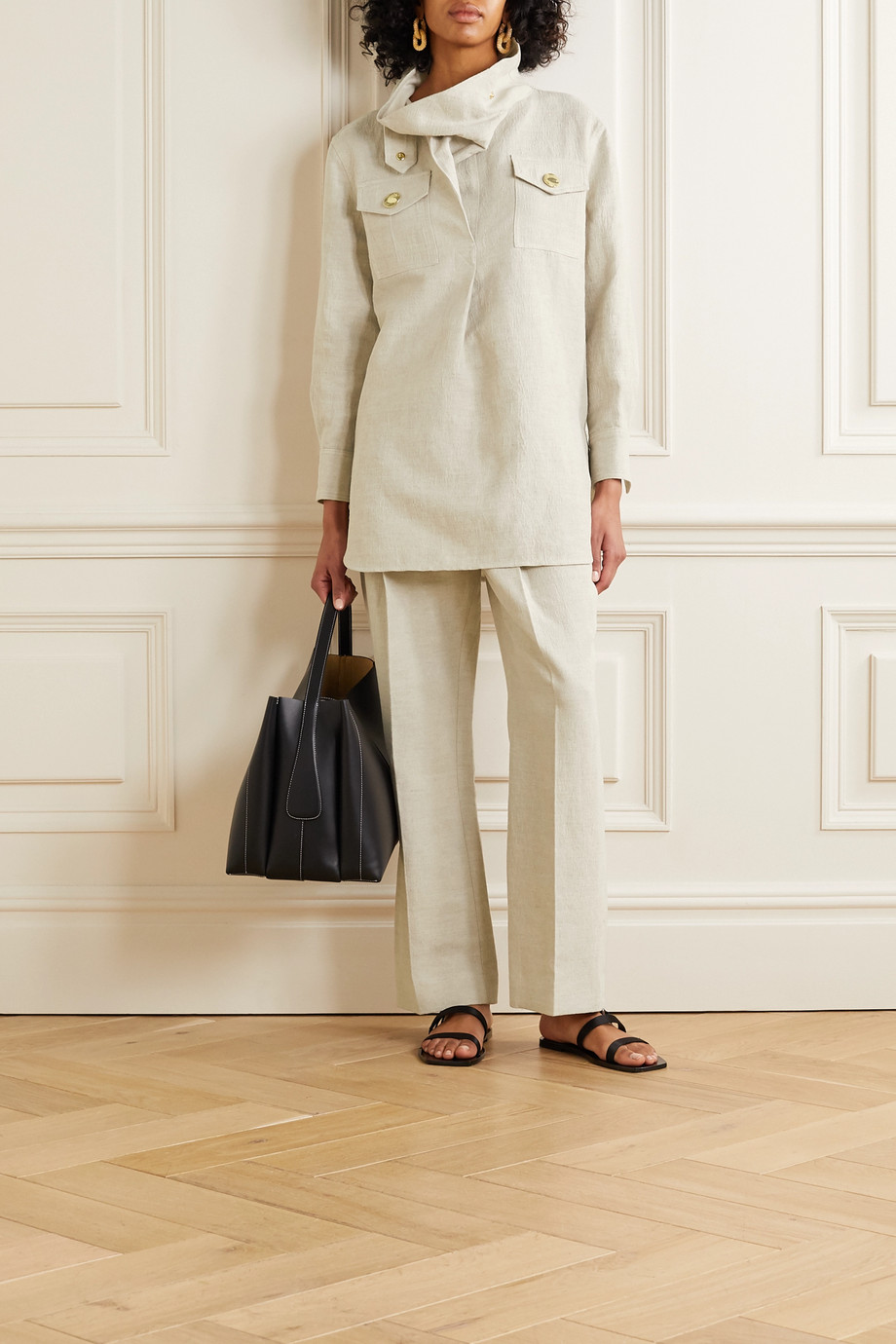 By Malene Birger Bellah canvas turtleneck tunic
