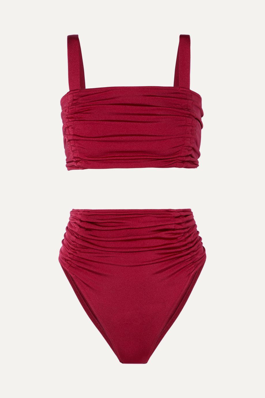 OYE Swimwear Alectrona ruched bikini