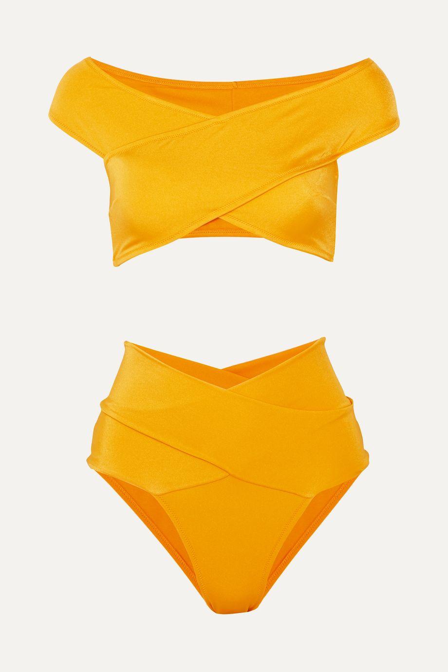 OYE Swimwear Lucette 围裹效果比基尼