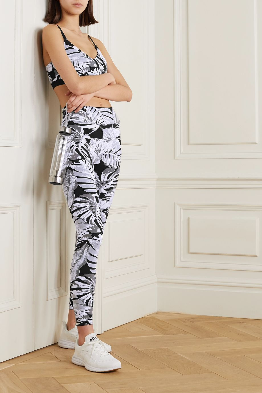 Koral Drive Paradise printed stretch leggings