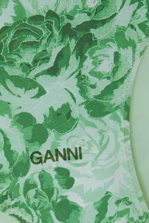 GANNI + NET SUSTAIN printed bikini briefs