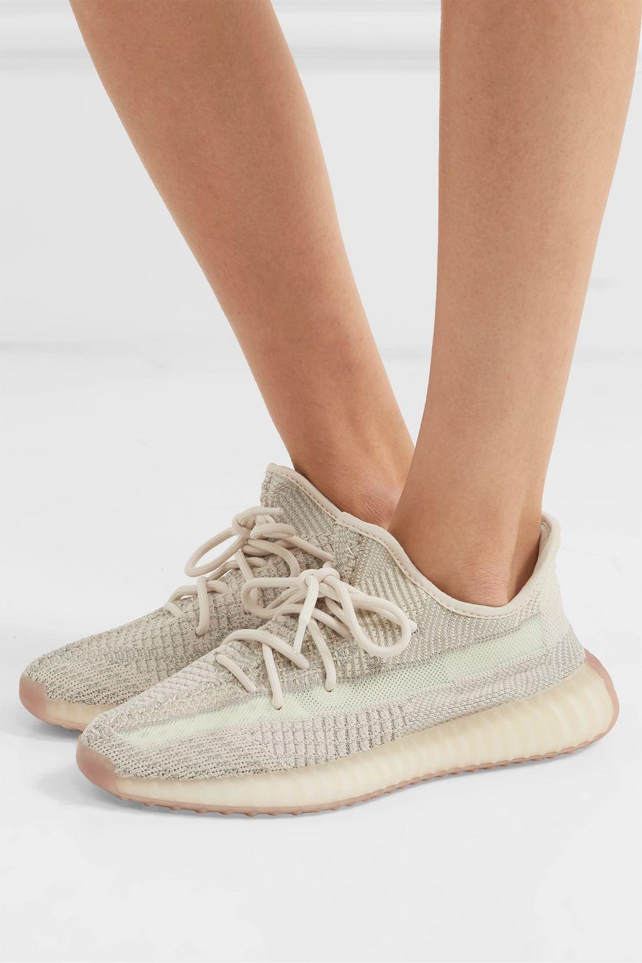adidas Originals Baskets en Primeknit et en résille Yeezy Boost 350 V2