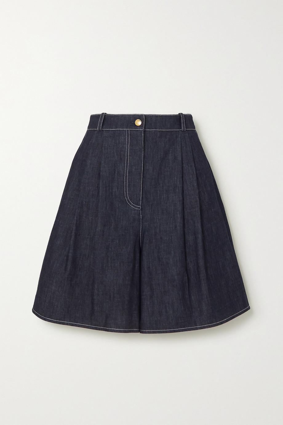 Emilia Wickstead Roger denim shorts