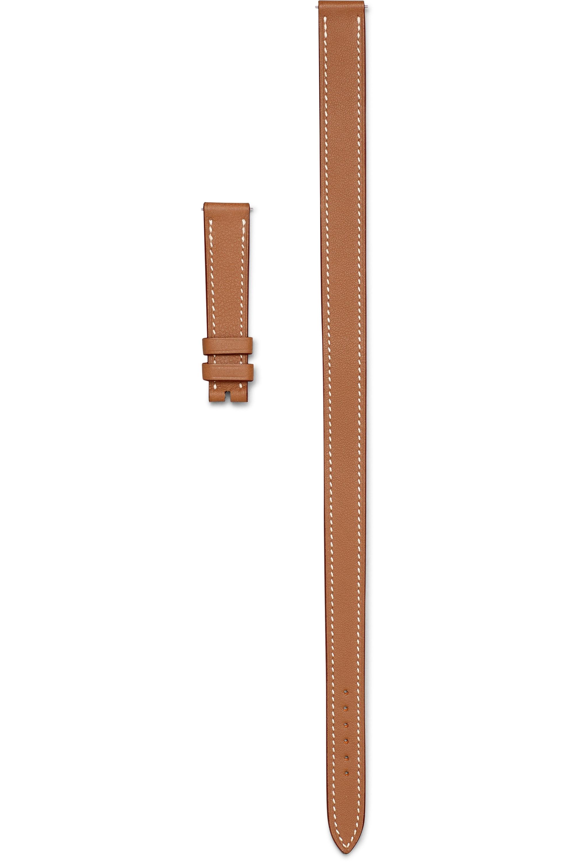 Hermès Timepieces Cape Cod Double Tour 23mm leather watch strap