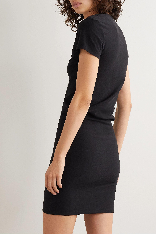 James Perse Stretch-cotton jersey mini dress