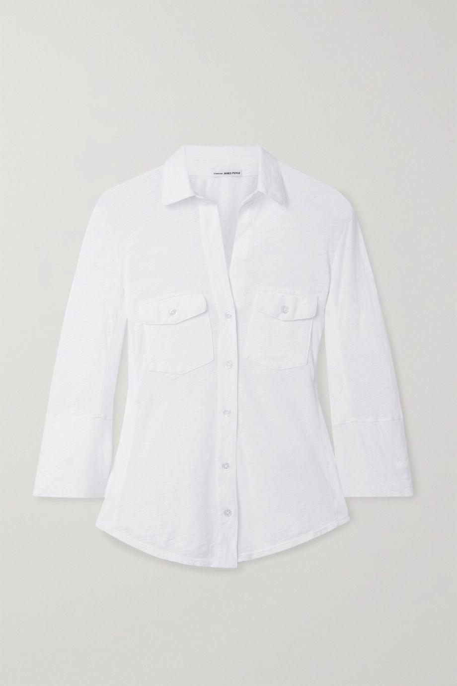 James Perse Slub cotton shirt