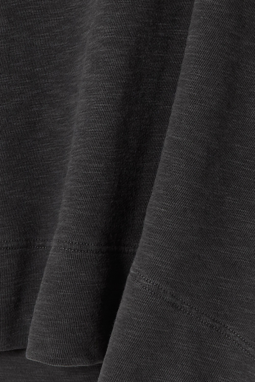 James Perse Mélange cotton-jersey sweatshirt