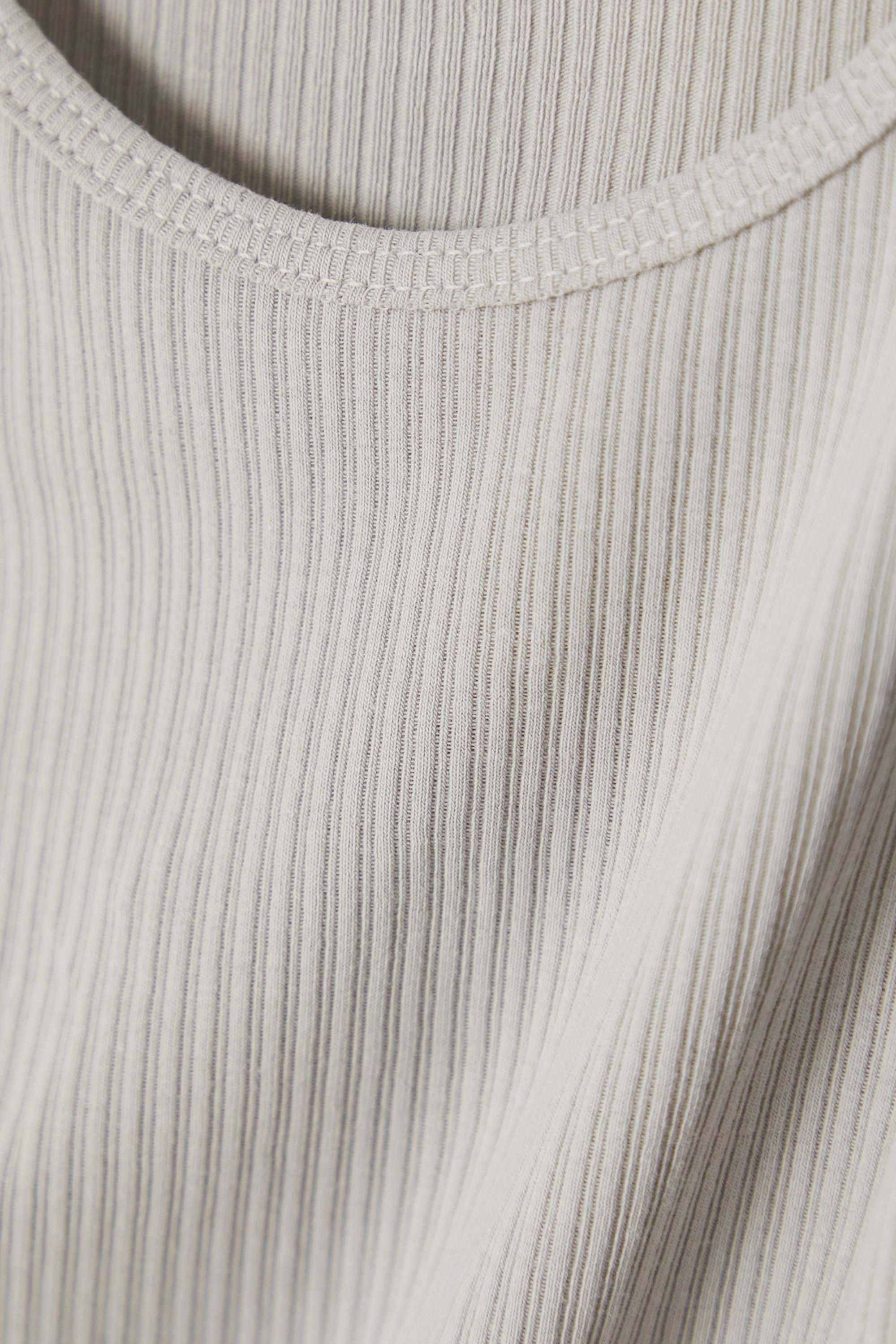 James Perse The Daily ribbed cotton-jersey tank