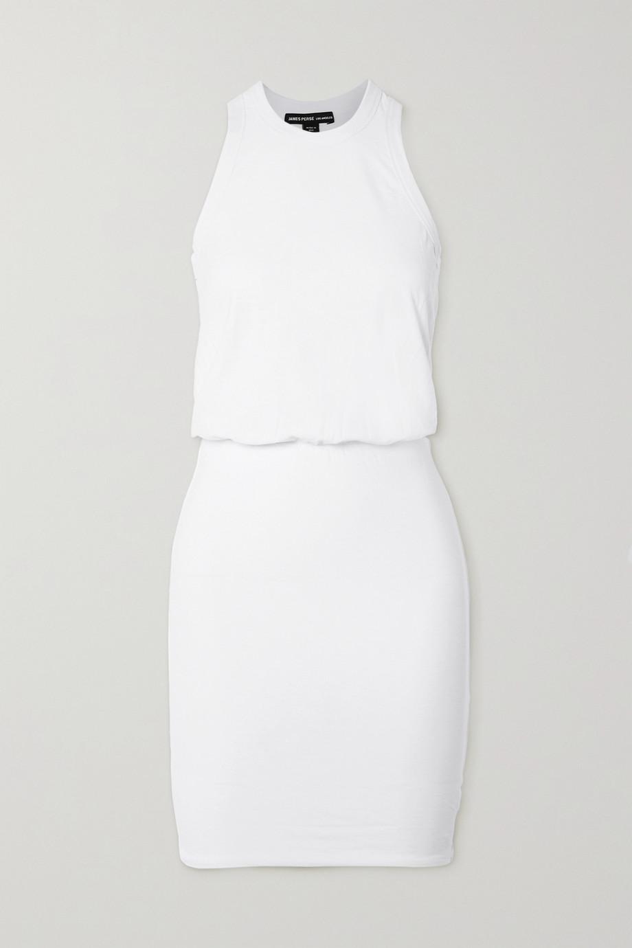 James Perse Stretch cotton-jersey mini dress