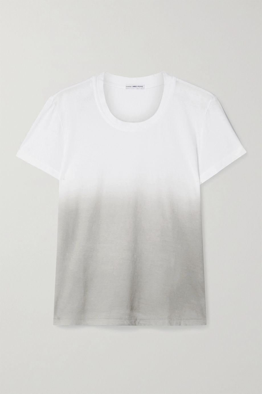 James Perse Boy ombré cotton-jersey T-shirt