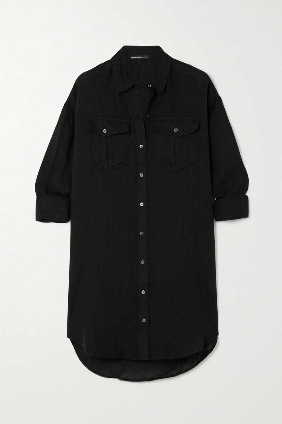 James Perse Linen shirt dress