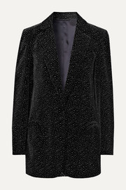 Cassiana Weekend glittered velvet blazer