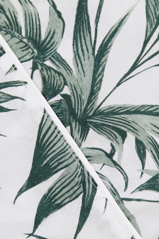 Desmond & Dempsey Cotswolds printed cotton pajama set
