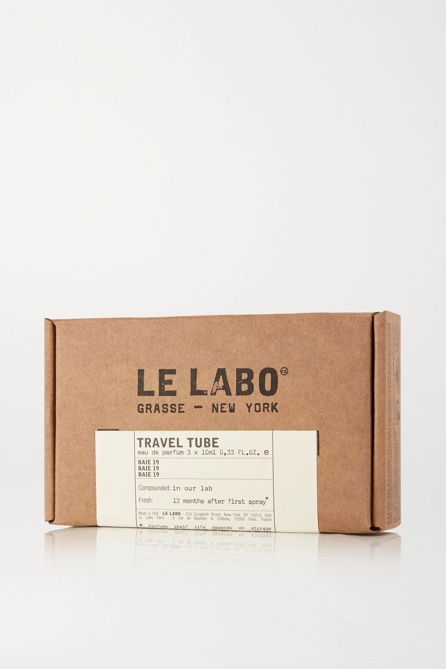 Le Labo Travel Tube Eau de Parfum - Baie 19, 10ml
