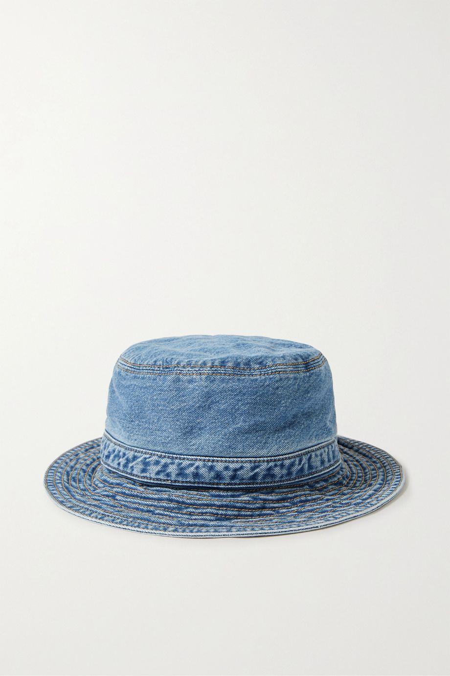 GANNI 有机牛仔布渔夫帽