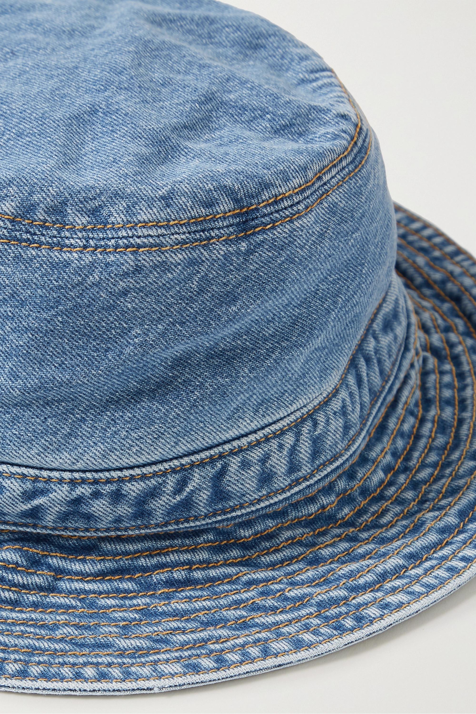 GANNI Organic denim bucket hat