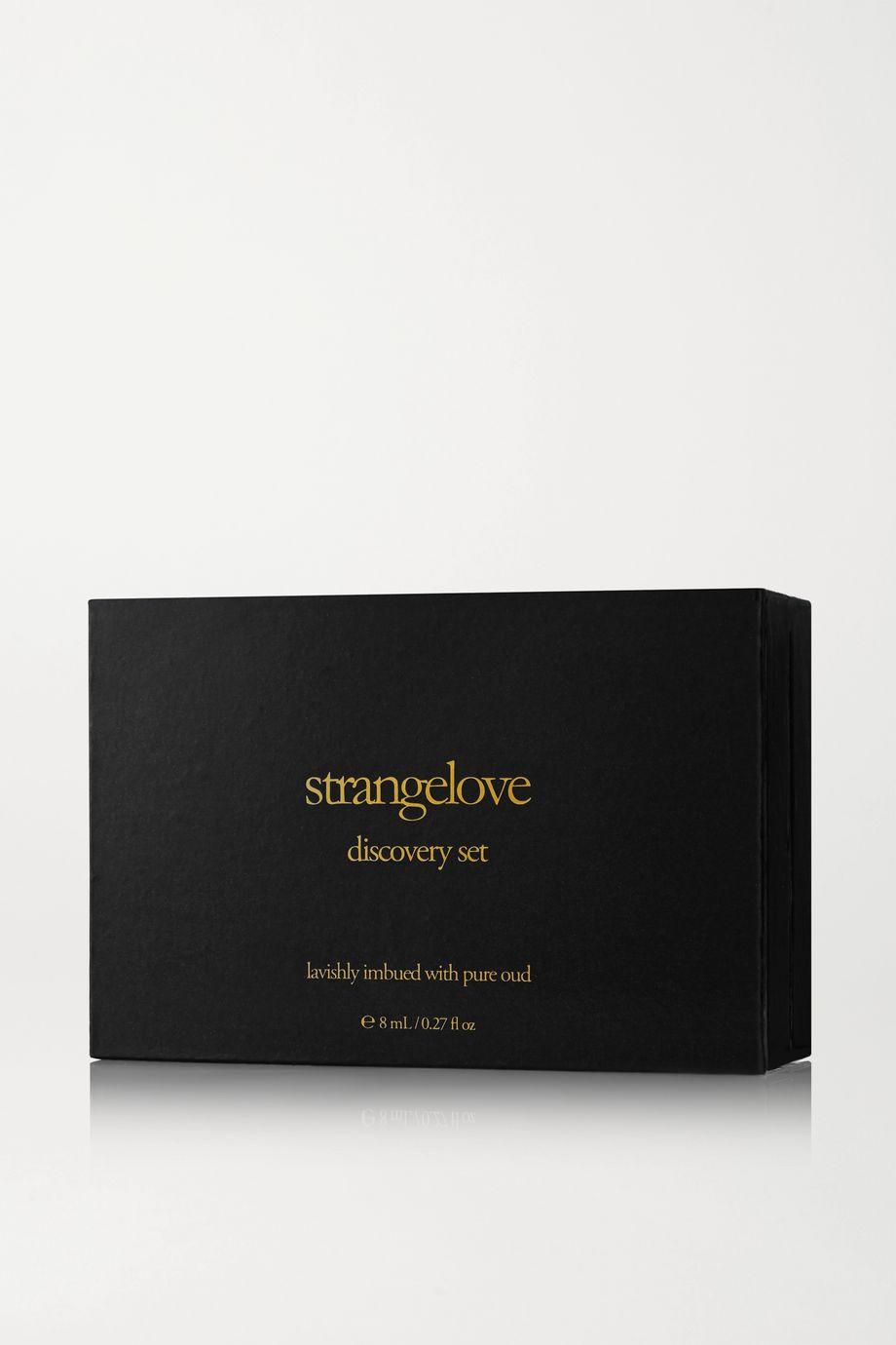 strangelove nyc Discovery Set, 4 x 2ml