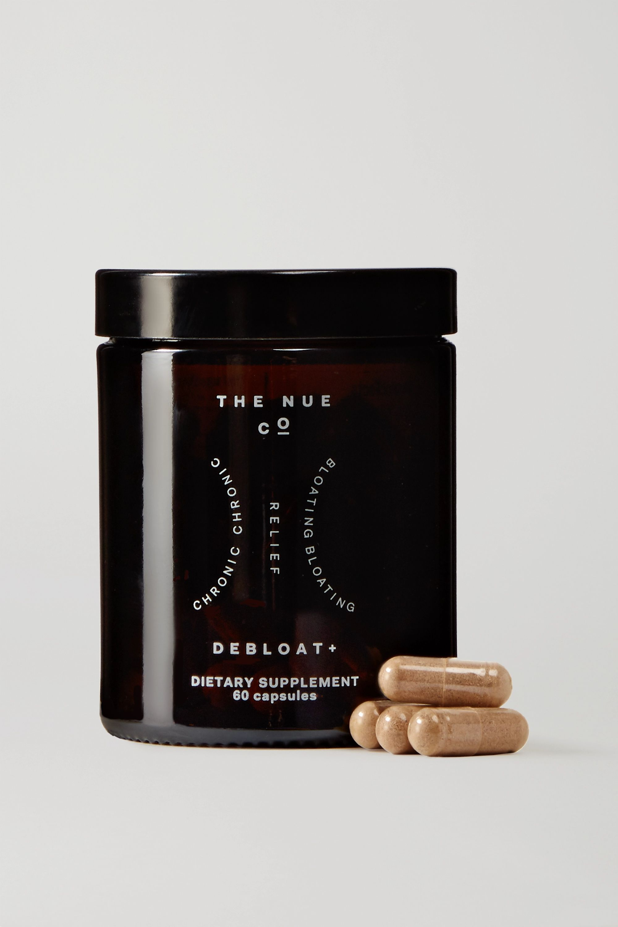 The Nue Co. Debloat + (60 capsules)