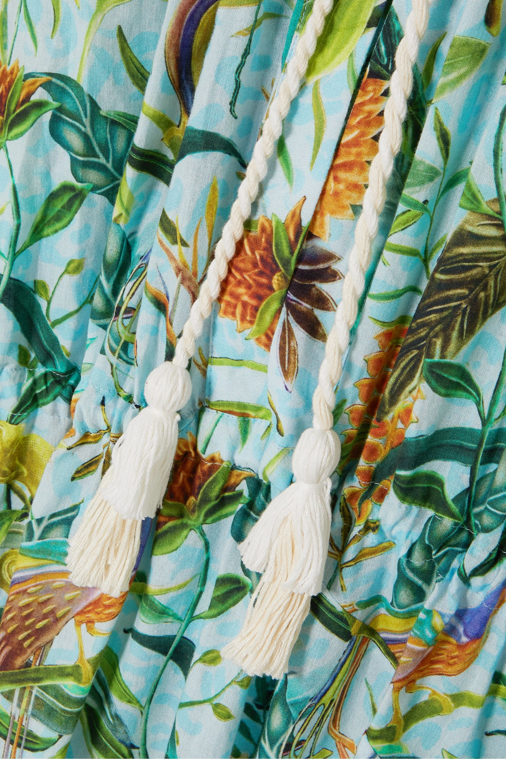 Dodo Bar Or + Annabel's printed cotton-voile maxi dress