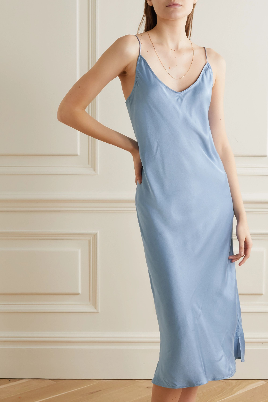 Skin Terra stretch-silk satin chemise