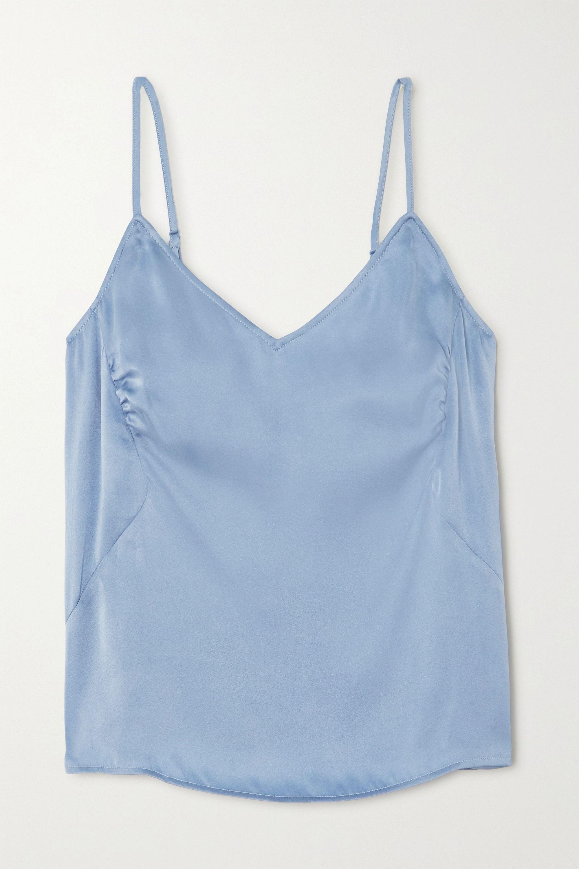 Skin Tabatha stretch-silk satin camisole