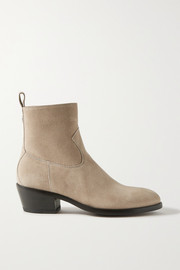 Jimmy Choo + Kaia Gerber 40 suede ankle boots