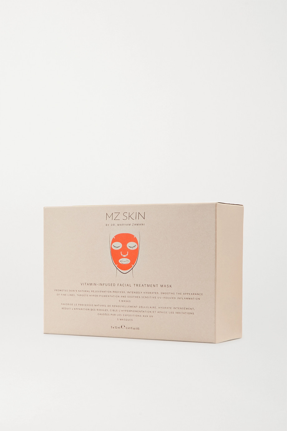 MZ Skin Vitamin-Infused Facial Treatment Mask x 5
