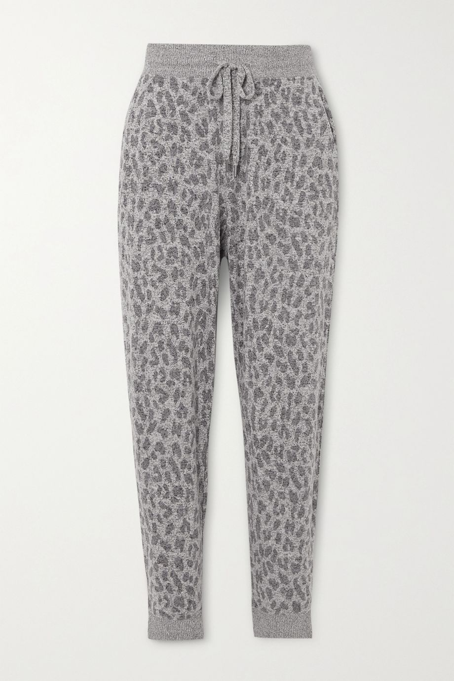 Rails Kingston leopard-print brushed-jersey track pants