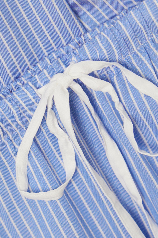Rails Kellen striped twill pajama set