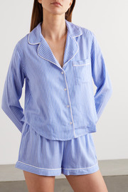 Rails Kellen striped twill pajama set