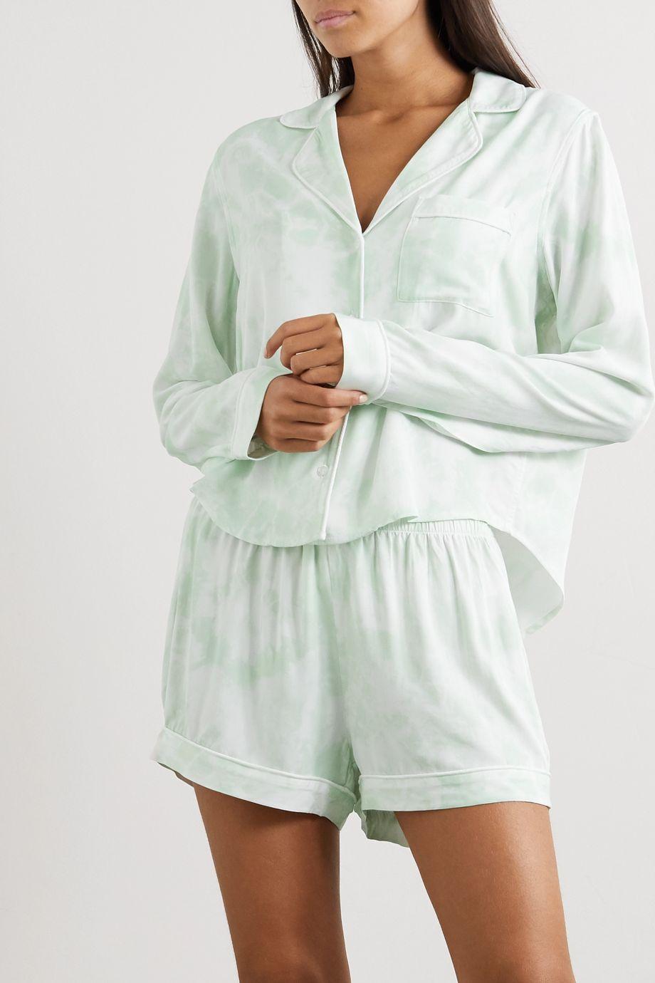 Rails Kellen tie-dyed jersey pajama set