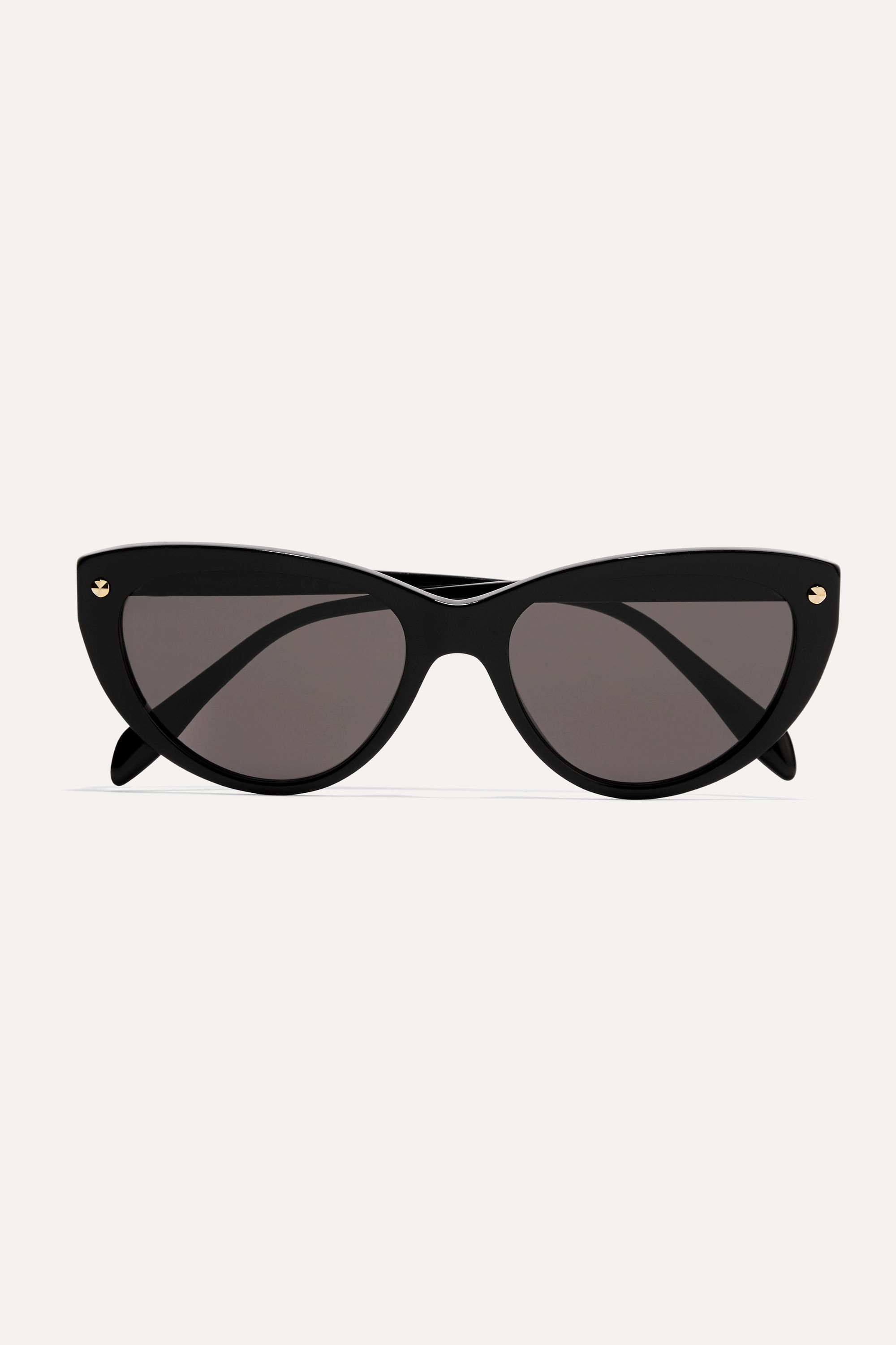 Alexander McQueen Rivets cat-eye acetate sunglasses