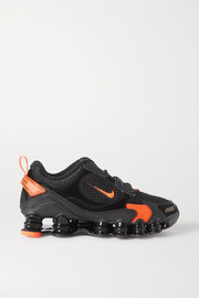 Nike Shox TL Nova SP suede, leather and mesh sneakers