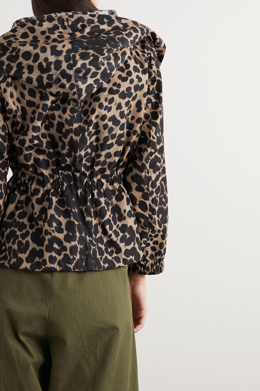 Dries Van Noten Leopard-print shell jacket