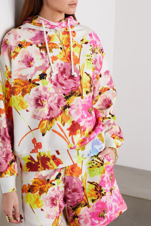Dries Van Noten Floral-print cotton-jersey hoodie