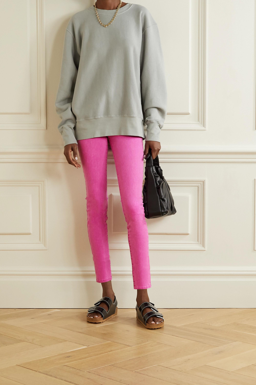L'Agence Margot verkürzte, hoch sitzende Skinny Jeans