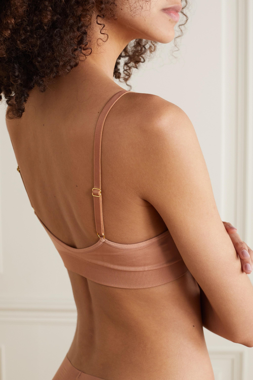 Commando Minimalist stretch-jersey soft-cup triangle bra