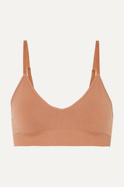 Commando Minimalist stretch-jersey soft-cup triangle bra