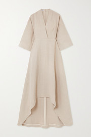 Co Asymmetric twill dress