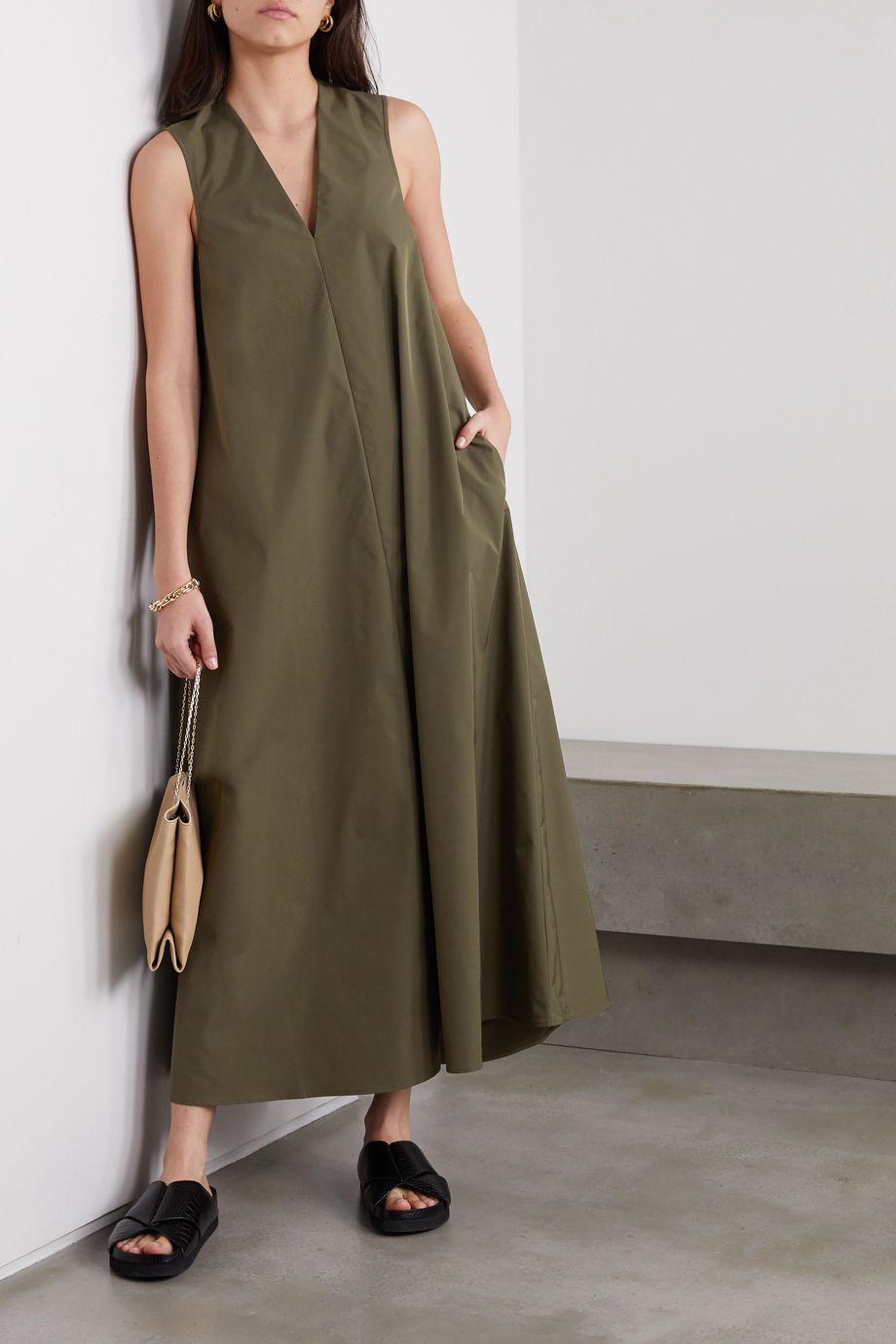 Co Woven maxi dress