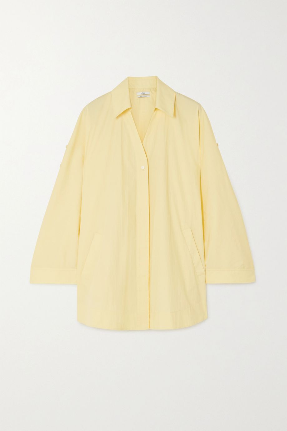 Co Cotton-blend shirt