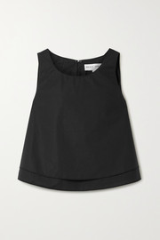 APIECE APART Agnes layered cotton-poplin top