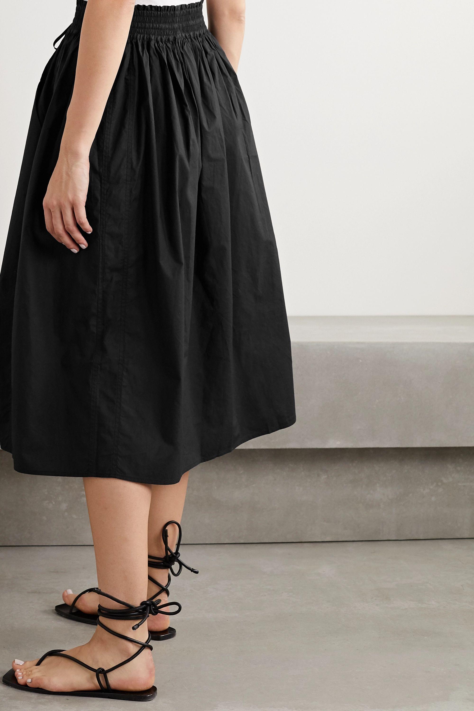 APIECE APART Wabi Sabi cotton-poplin midi skirt